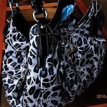 Clean Coach 17751 Madison Ocelot Op Art Maggie Hobo Holiday Spring Summer Sale Photo