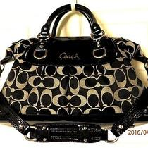 Clean Coach F15443 Signature Ashley Sabrina Satchel Holiday Winter Summer Sale Photo