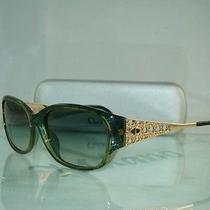 Clearance Hence Low Price Christian Dior 2767 50 Green & Gold Vintage Sunglasses Photo