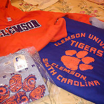 Clemson University Items Hat Sweatshirts - Nwt by the Game - Take One or All Photo