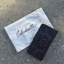 Cleobella Mexicana Painted Wallet (Black) Leather Photo