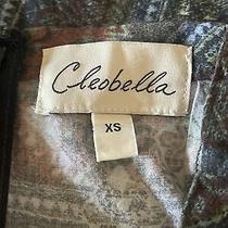 Cleobella Short Skirt Size Xs W/ Side Slit 100% Viscose Hand Wash Great for Fall Photo