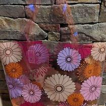 Clinique Beauty N Bloom Summer Essentials Floral Clear Tote Bag Photo