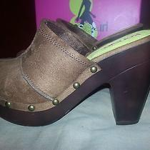 Clogs Kensie Girl - Cognac Suede  - 8.5m  Nib Photo