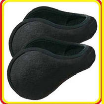 Clothing - One (1)  Griffin Black Ear Muffs Behind the Head Ear Warmers  Photo