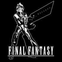 Cloud T-Shirt  Final Fantasy Playstation Video Game Shirt  Photo