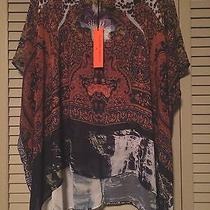 Clover Canyon 247 Nwt  Orchid Printed Top Size Xs Sale Photo