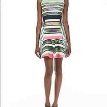 Clover Canyon Cuban Multi-Color Printed Flare Dress Sz L Photo