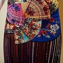 Clover Canyon Dancing Fans Skirt Size Xs Photo