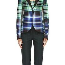 Clover Canyon Dublin Plaid Neoprene Jacket. S. Photo
