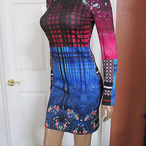 Clover Canyon Enchanted Woodlands Printed Neoprene Dress Size Small Nwot Photo