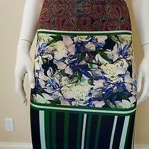 Clover Canyon Floral Collage Skirt Size Xs Photo