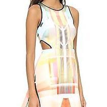 Clover Canyon Fluorescent Rose Cutout Dress Sz Xs Photo