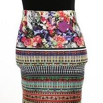 Clover Canyon Multi-Color Print Skirt  Photo