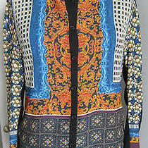 Clover Canyon Multi-Colored Print Blouse S Nwt Photo