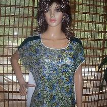 Clover Canyon Multicolored Sequin Blouse Top Size M 198 Nwt Photo