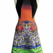 Clover Canyon Newgrange Clover Pastures Flared Scuba Dress Size M New Photo