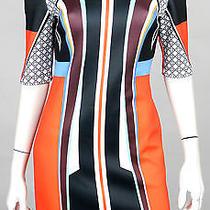 Clover Canyon Nwt Multi-Color Print Neoprene Sheath Dress L Photo