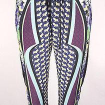 Clover Canyon Pants Size M Tiger Multi Color Print Photo