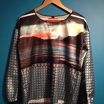 Clover Canyon Silk Blouse Sz Small Euc Photo