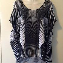 Clover Canyon Small Blouse Top Black and White Photo