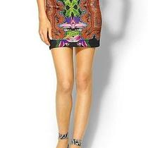 Clover Canyon Tattoo Printed Neoprene Dress Skirt S Photo