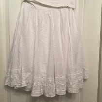 Club Monaco C04 Womens Solid White Skirt Size 27 Inches Photo