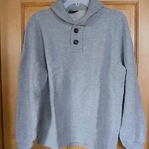 Club Monaco Men's Henley Sweatshirt Photo