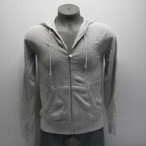 Club Monaco Men's Xs Boucle Full Zip Hoodie Grey Mix 795712570001 Photo
