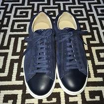 Club Monaco Navy Womens Sneakers Brand New Without Tags Us Size 7 Eu Size 37 Photo