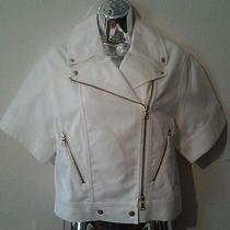 Club Monaco Nwt Kassandra Jacket Sz Xs Pure White Photo