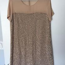 Club Monaco Sequin Blush Dress Size 2 Photo