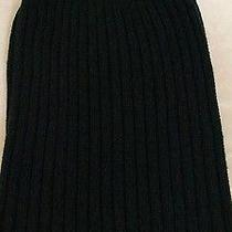 Club Monaco Winter Beanie Hat Navy 100% Wool Photo