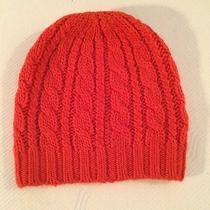Club Monaco Winter Hat Orange Photo
