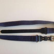 Club Monaco Wool and Leather Belt Photo