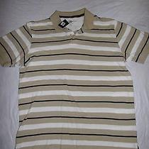 Club Room Mens Shirt Estate Classic White Hudson Tan Xl Photo