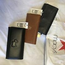 Clutch Wallet Women (1) Fossil (2) Ridley of London Never Used Excellent Macys Photo