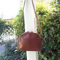 Coach 0759-029 Authentic Vintage Brown Glove Tanned Cowhide Leather Shoulder Bag Photo