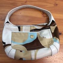 Coach 10781 Ergo Scarf Print Hobo Bag Photo