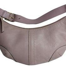 Coach 15226 Fuchsia Pink Hampton Glove Cowhide Leather Hobo Bag 218 Photo