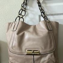 Coach 16815 Limited Kristin Light Pink/blush Leather Shoulder Tote Bag Photo
