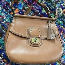 Coach 19132 Glove Leather Willis 70th Ann Legacy Turnlock Crossbody Vintage Bag Photo