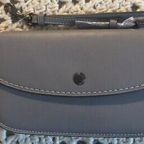 Coach 1941 Clutch Glovetanned Leather Wristlet Heathered Gray Nwot Photo