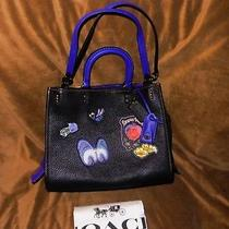 Coach 1941 Disney X Rogue With Patches 32793 Black Copper Snow White 895 Nwt Photo