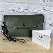 Coach 1941 Glovetanned Leather Clutch Wristlet Wallet 175 Photo
