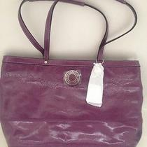 Coach 19462 Blossom Gallery Embossed Patent Leather Handbag Nwt 358.00  Photo