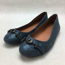 Coach 22.5cm Size 22.5cm Navy Fashion Heels 579 From Japan Photo