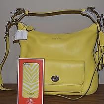 Coach 22381 Leather Courtenay Hobo Shoulder Crossbody Bag & Iphone 5 5s Case  Photo