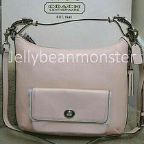 Coach 22381 Legacy Leather Courtenay Hobo Bag Purse Crossbody Blush New Photo