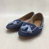 Coach  36  Blue  Blue  Tassels Size 36 Blue Fashion Heels 512 From Japan Photo